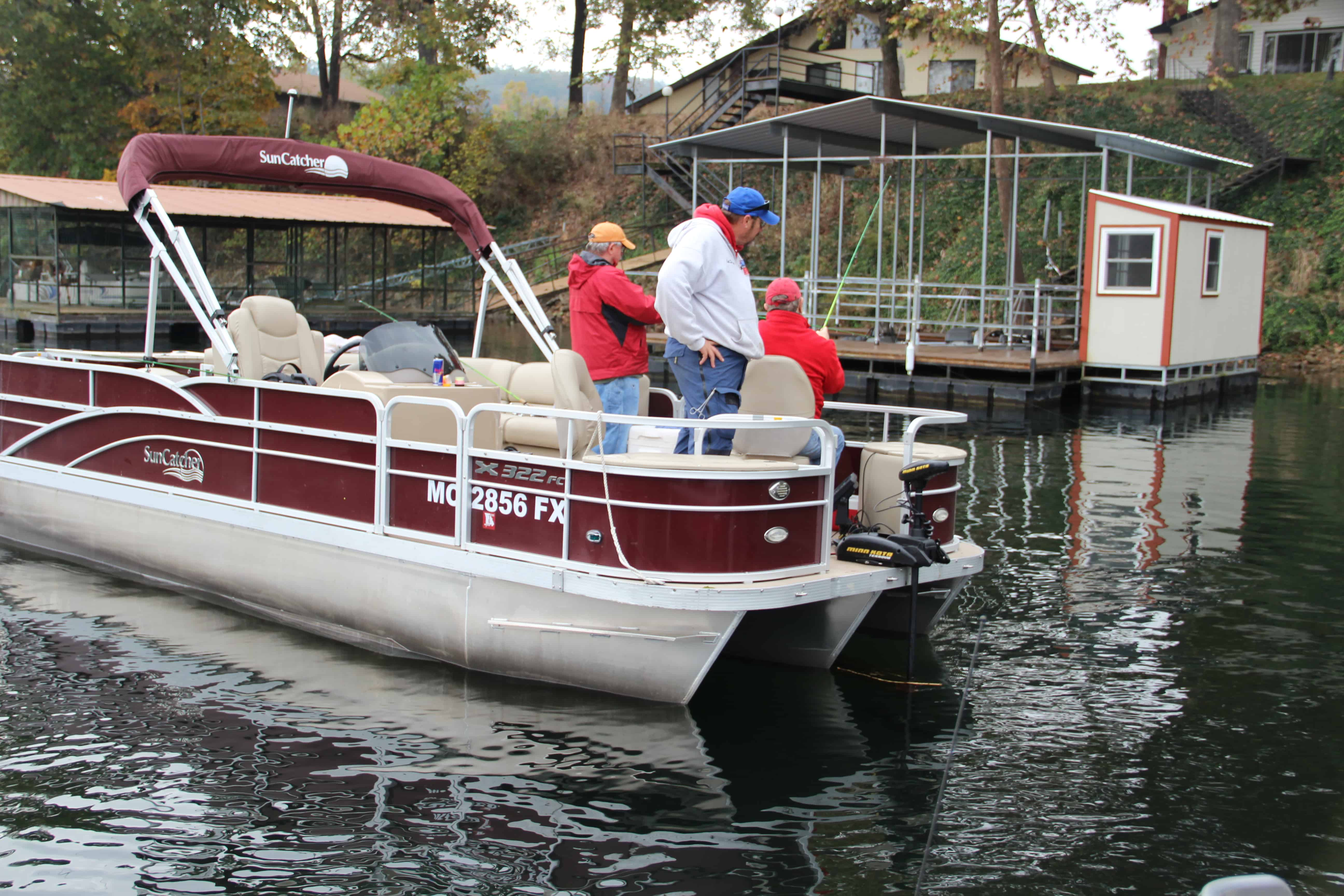 Tricked out pontoon boat fishing 2017 2018 best cars for Fishing pontoon boat reviews